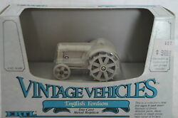 Ertl Vintage Vehicles English Fordson 1/43 Scale Toy Tractor Diecast Metal 2526