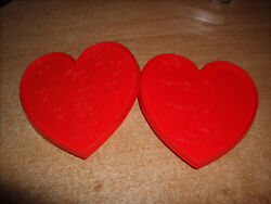 Vintage Snoopy And Charlie Brown Large Cookie Cutters Valentines Hearts
