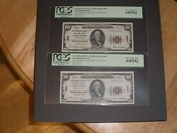1929 100 National Bank Note Type 1 Consecutive Low Serial 2 Lancaster Pa Rare