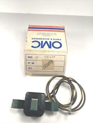 New Oem 582059 Evinrude Johnson Omc Charge Coil P/n 581635 Nos 582059