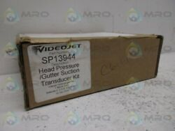 Videojet Sp13944 Head Pressure Gutter Suction Transducer Kit New In Box