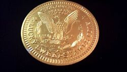 Vintage Aluminum Token Readers Digest 100,000 Lucky Sweepstakes Coin Eagle
