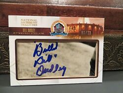 National Treasures Autograph Hof Fifty Years Steelers Bill Dudley 01/23 2013