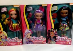 Sunny Day Brush And Style Sunny, Blair Rox 11 Doll Complete Set Lot Of 3