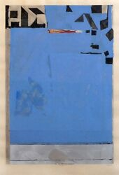 Amazing Richard Diebenkorn edition MUSEUM quality PERFECT Blue with RED Fine Art