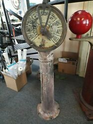 Vintage Engine Room Telegraph Wwii Cargo Ship Or Liberty Ship