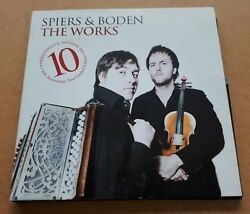 Spiers And Boden The Works 2011 Uk Numbered 11-track Tour Cd Bellowhead 500-only