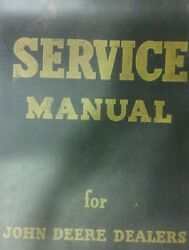 John Deere 720 Farm Tractor Service And Parts Manual Diesel Gasoline Two-cylinder