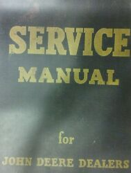 John Deere 720 Farm Tractor Master Service And Parts Manual Gasoline Two-cylinder