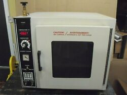 Lab Line Model 3618-5 Vacuum Oven Led Temperature Anaerobic Chamber Drying Oven