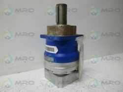 Alpha Sp100g-mf2-40-1e1-2s-pgg Gear Motor Ratio 40 As Pictured New No Box