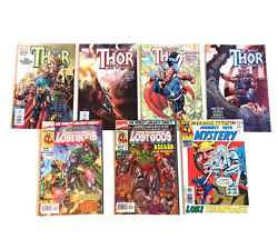 Marvel Comics Thor And Journey Into Mystery Job Lot Set Of 7 Issues, Avengers
