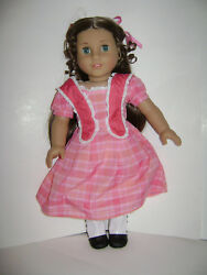 American Girl Doll Historical Girl 18 Marie Grace With Meet Outfit New