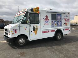 Soft Ice Cream Truck Brand New Built