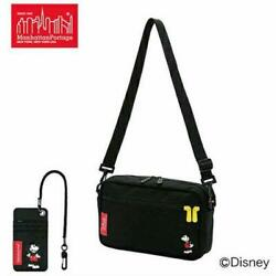 Manhattan Mickey Collaboration Bag With Pass Case Only Today