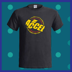 ACCEL Ignition Coils Spark Plug Logo Holley Men's Black T-Shirt S M L XL 2XL 3XL
