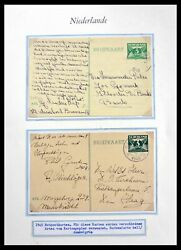 Lot 29824 Collection Cancels On Stamps Of The Netherlands 1945-1946.