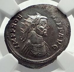 Probus Authentic Ancient 276ad Rome Genuine Original Roman Coin Fides Ngc I77341