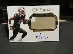 Panini Flawless Rookie On Card Autograph Jersey Saints Michael Thomas 06/25 2016