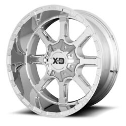 20 Inch Chrome Wheels Rims Lifted Gmc Sierra 2500 3500 Hd 20x12 8x180 Set 4 New
