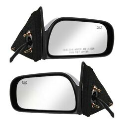 Set Of 2 Mirror Power For 1997-2001 Toyota Camry Usa Built Heated Paintable