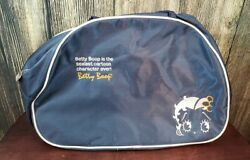 Vintage Betty Boop 1999 Blue Canvas Tote Bag Sexiest Cartoon Character