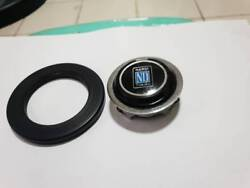 Rare Vintage Nardi Horn Button With Ring Trim