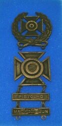 Wwii United States Army Sharpshooter And Expert Marksman Medal