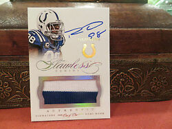 Panini Flawless Autograph Jersey Colts Robert Mathis 1/1 One Of One 2014