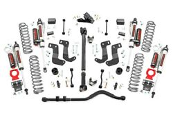 Rough Country 2018-19 JL 3.5in Jeep Lift Kit Stage 2 Vertex Shocks Rubicon 4d