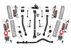 Rough Country 2018-19 JL 3.5in Jeep Lift Kit Stage 2 Control Arms Rubicon 4d Ver