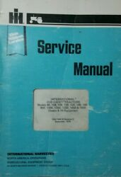 Ih 1650 169 International Cub Cadet Gss-1464 Service Manual Chassis And Implement
