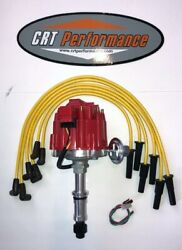 225 231 Buick Odd Fire Dauntless V6 Hei Distributor Red + 8mm Plug Wires Yellow