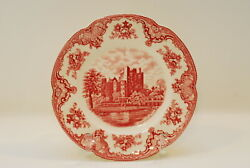 Johnson Brothers Old Britain Castles Pink Dinner Plate Plates 10 Inch