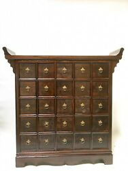 Oriental Antique Cabinet Furniture With Drawers