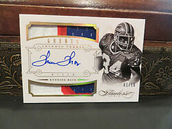 Panini Flawless Autograph Jersey Greats Bills Auto Thurman Thomas 01/10 2014