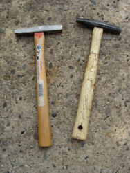 Lot Of 2 Magnetic Tack Hammers With Wood Handle Home Tools
