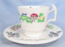 Copeland Late Spode Cup And Saucer Birds On Branches Pattern 6919 England O3