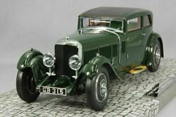 Minichamps 107139421 1/18 Bentley Speed Six Corsica Coupe 1930 Green New