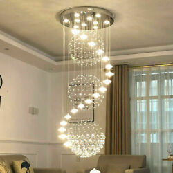 New Modern Led Crystal Chandelier Ceiling Lamps Hanging Lamp Chandelier Lamp Yc