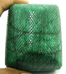 2640cts Rare Huge Collectible Hand Carved Quality Natural Green Emerald Gemstone