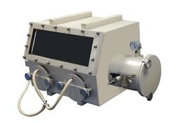 Compact Stainless Steel Vacuum Glove Box(22x17x16