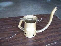Vintage New Old Stock Plews Swingspout Oil Can