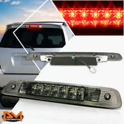 For 01-03 Highlander Dual Rows Led Third 3rd Tail Brake Light Stop Lamp Smoked