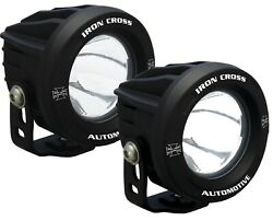 Iron Cross Automotive OP3R-ICKIT Driving Light Kit for Front Bumper - 3.75