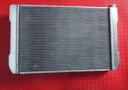 Aluminum Radiator 26 Inch 2 Wide Row 4 Core Equivlent Gm Applications 19 In High