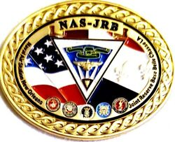 Unique 1 Military Challenge Coin New Orleans Tricentennial 300 Years Nas Jrb