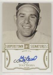 2013 Panini Cooperstown Collection Signatures /25 Yogi Berra Hof-yog Auto Hof