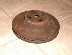 71 72 73 74 75 Chevy Single Groove Water Pump Pulley 350 400 402 454 Chevrolet