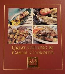 Great Grilling And Casual Cookouts Cooking Club America 2000 Hc Rare Out-of-print
